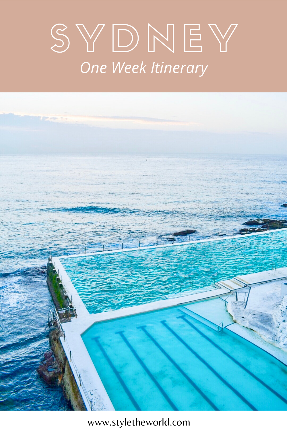One Week Sydney Itinerary | Explore Sydney, the Blue Mountains, and Hunter Valley Wine Region in 7 Days in Australia | by Style the World | #visitaustralia #travelinspiration #sydneyitinerary