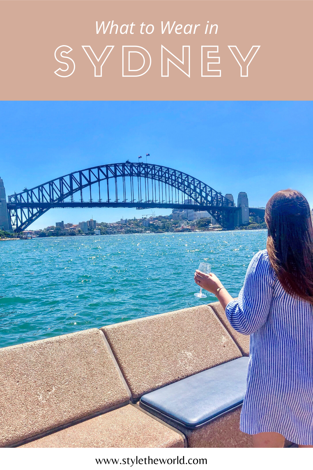 Sydney Style Inspiration | Sydney Packing List | What to Wear in Sydney, Australia |  by Style the World | #travelaustralia #visitsydney #travelstyle #styleinspiration