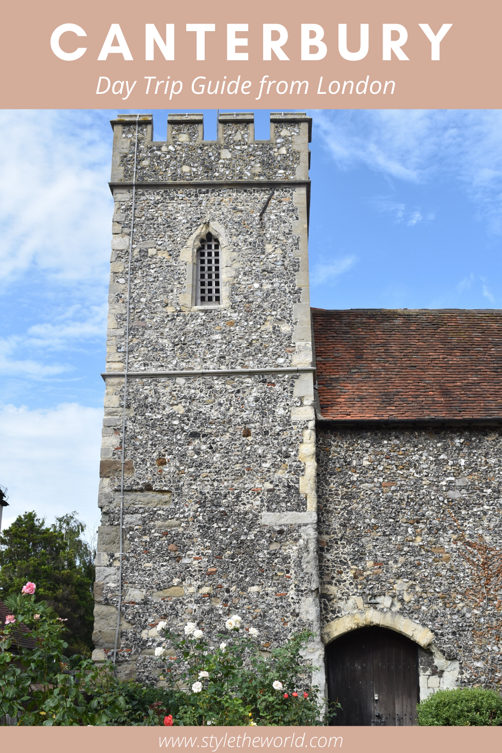 London Day Trip Inspiration | How to get to Canterbury from London | Things to do in Canterbury, Kent | #travelinspiration #londondaytrip #visitengland #canterbury #charmingplaces