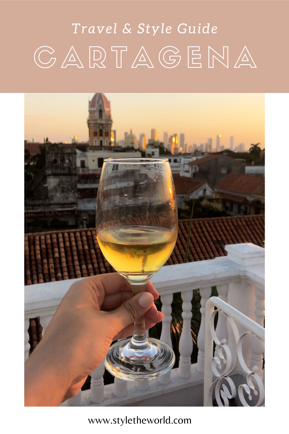 Travel & Style Guide for Visiting Cartagena Colombia | Where to Stay, What to Do, and What to Pack | by Style the World | #longweekendtrip #cartagenacolombia #cartagenaguide
